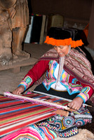 Weaving the traditional way